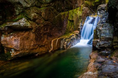 Sabbaday Falls, along the Kancamagus Highway in White Mountain N