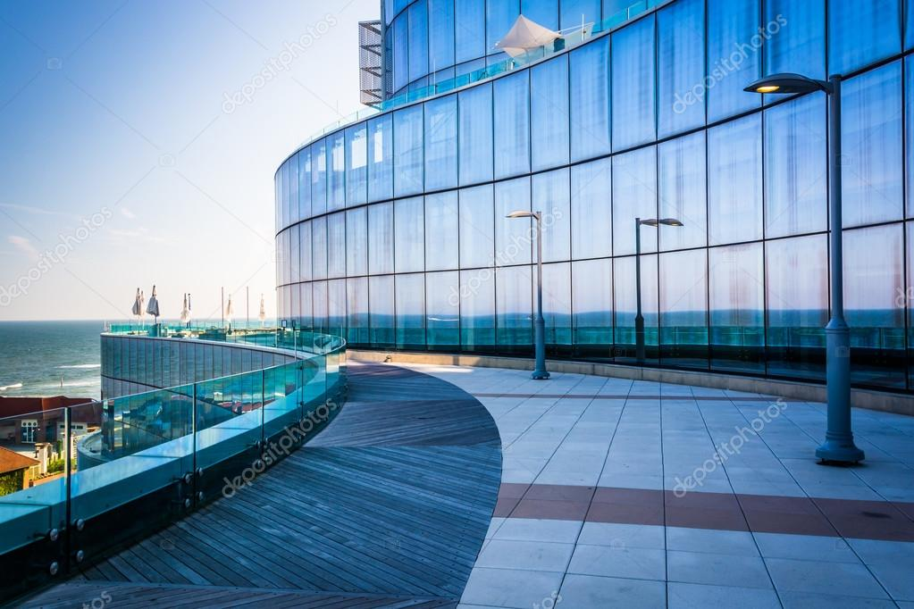 Download Outdoor Courtyard At The Revel Casino Hotel In Atlantic City, Ne  Stock Photo -