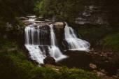 Blick auf Blackwater Falls, Blackwater Falls State Park, West v