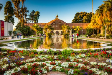 The Botanical Building and the Lily Pond, in Balboa Park, San Di