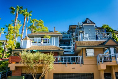 Large house in Laguna Beach, California.