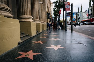 The Hollywood Walk of Fame, in Hollywood, Los Angeles, Californi