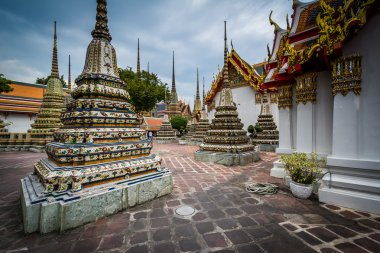 The historic Wat Pho Buddhist temple, in Bangkok, Thailand.