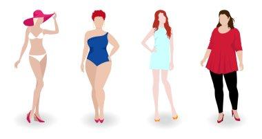 lim and fat fashion women