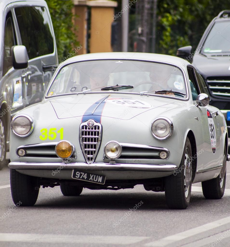 Alfa Romeo Giulietta Sprint 1955