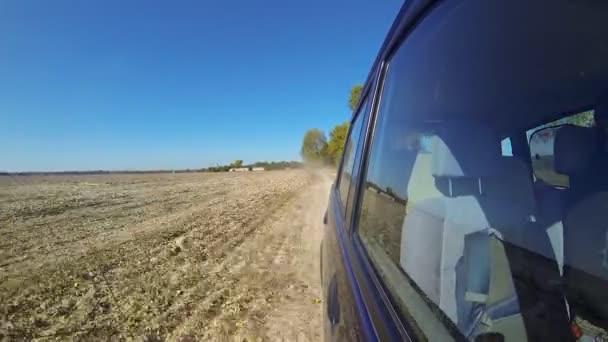 Řídit auto v přírodě rychle