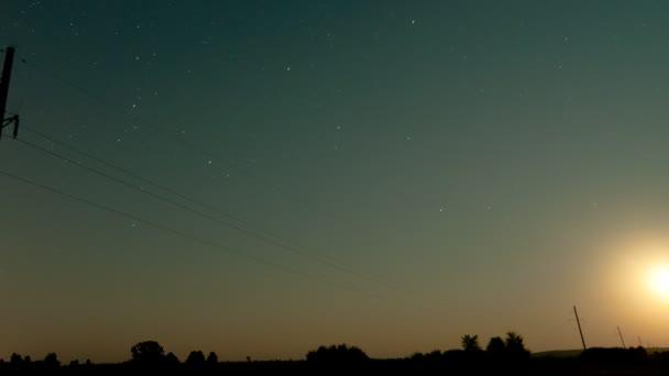 časová prodleva hvězd