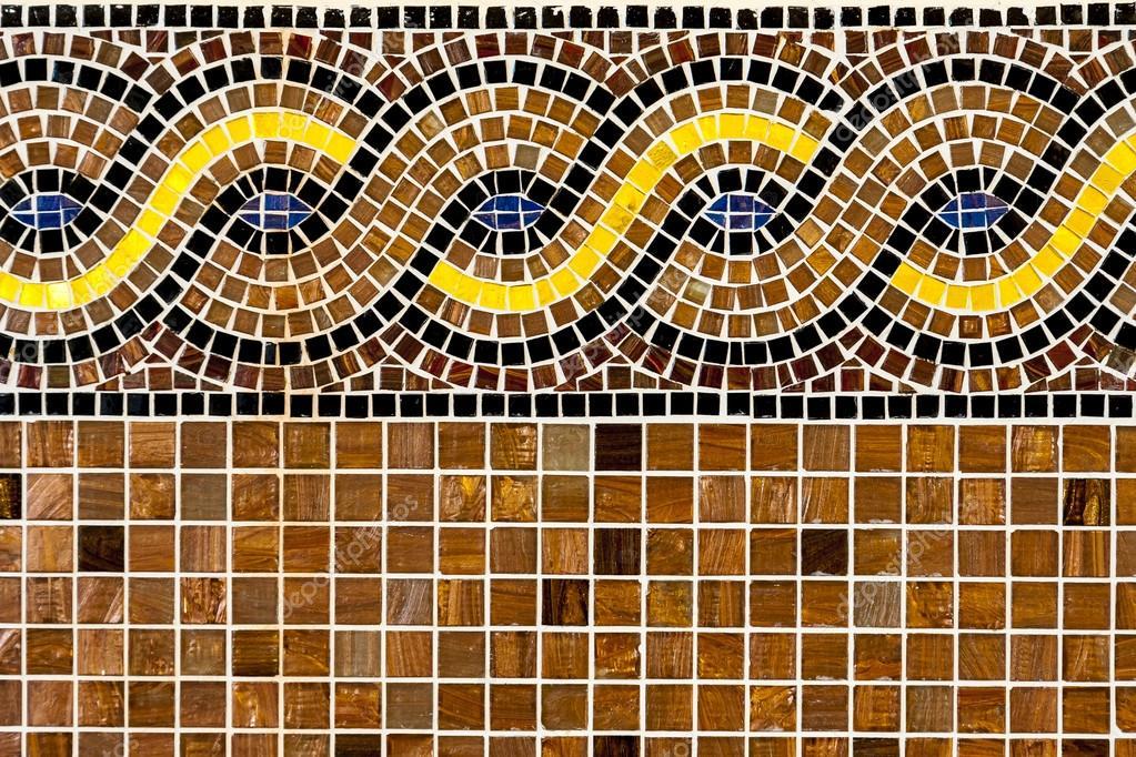 Mosaik Fliesen Mit Ornament Stockfoto C Gashgeron 84411696