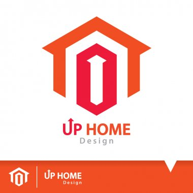 Up home icon symbol