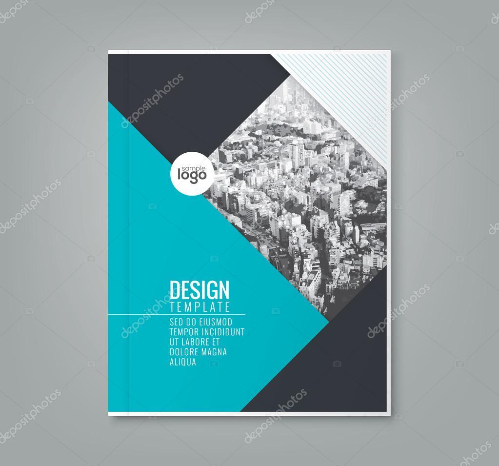 minimale blaue Farbe Design Vorlage-Hintergrund für Geschäft Plakat ...