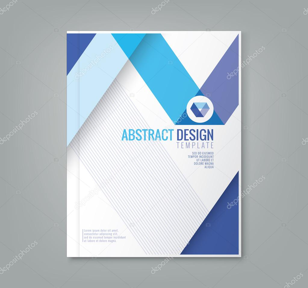 Abstract line design background template for business annual report abstract blue line design background template for business annual report book cover brochure flyer poster vector by kraphix flashek Choice Image
