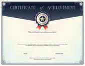 Fotografie Certificate of achievement design template