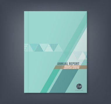 Abstract triangle stripe shape background for business annual report book cover brochure flyer poster clip art vector