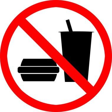 No food or drink.