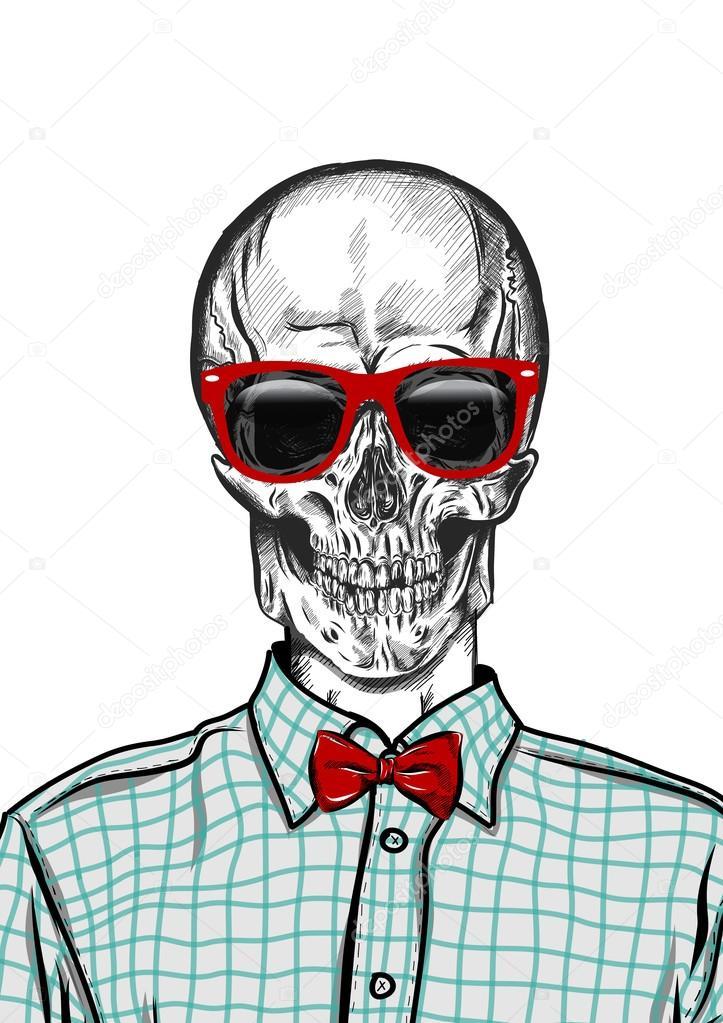 de la mano del cráneo anatomía dibujadas con diferentes tonos y ...