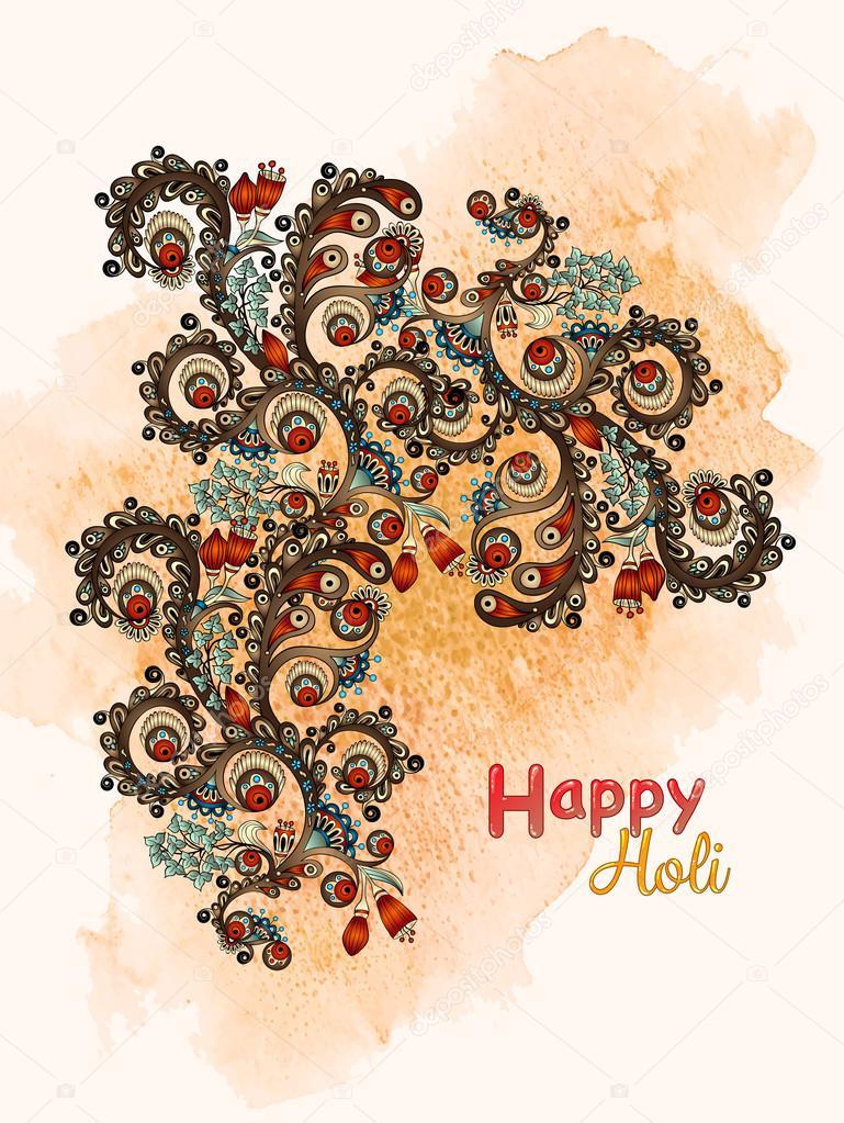 gratulationskort på webben Gratulationskort med blommor. Hand måla teckningar med akvarell  gratulationskort på webben