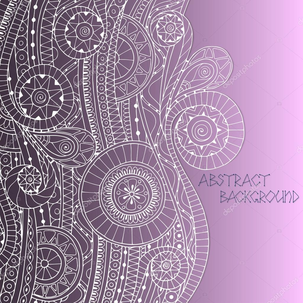 Doodle style background pattern in vector.