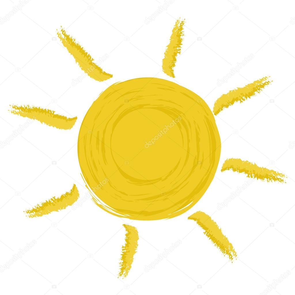 Gelbe Sonne