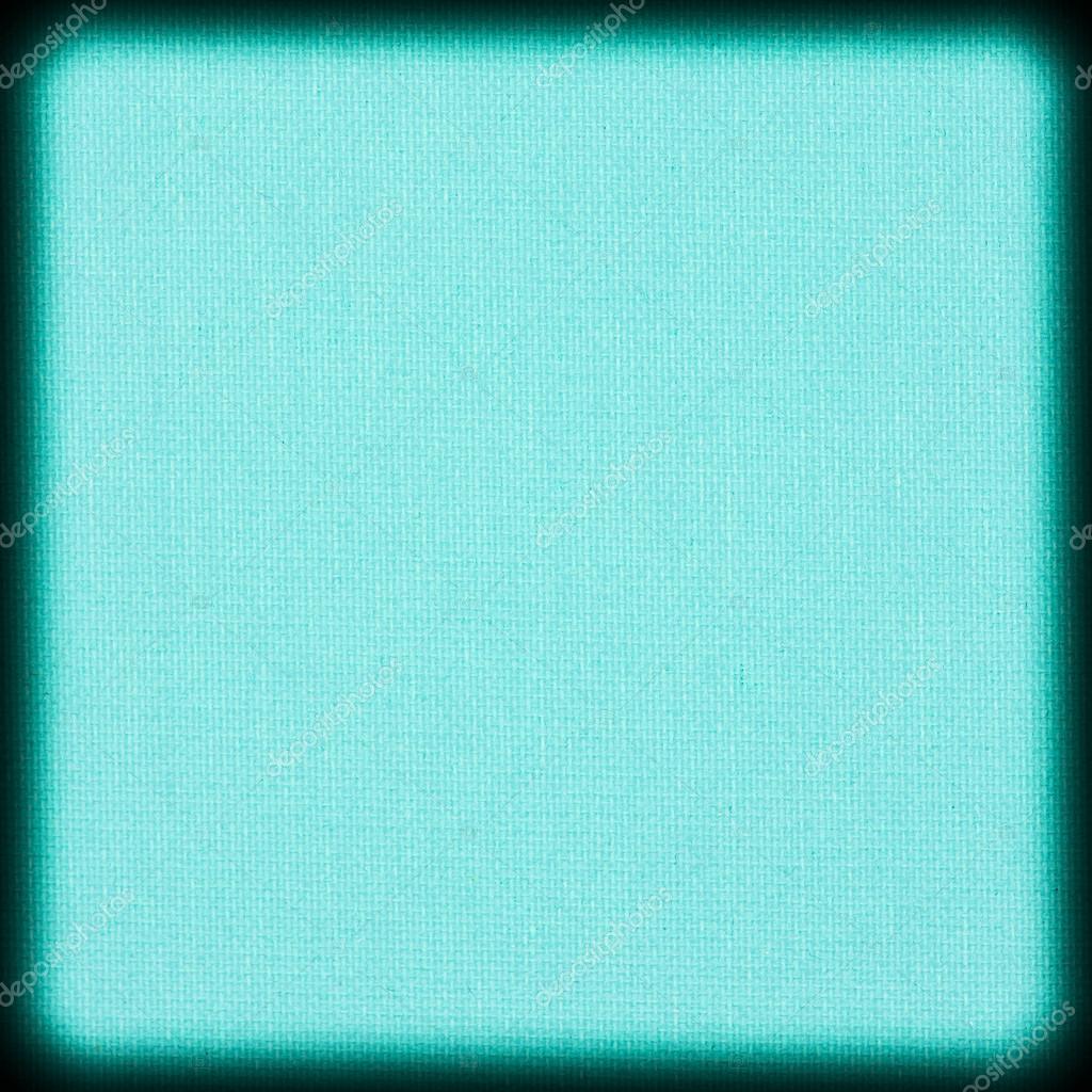 Textura De Fundo Tela Turquesa Com Vinheta Fotografia Stock