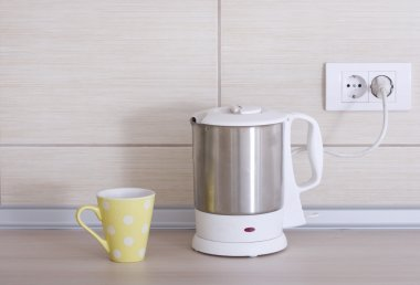 Electrical kettle and teacup