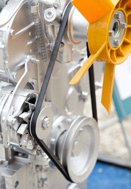 Tractor engine details