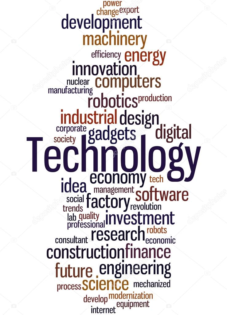 Technik, Word Cloud-Konzept 2 — Stockfoto © kataklinger #116057380