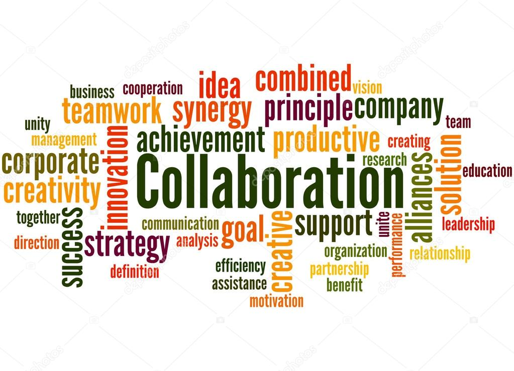 Collaboration, word cloud concept 6 ⬇ Stock Photo, Image ...