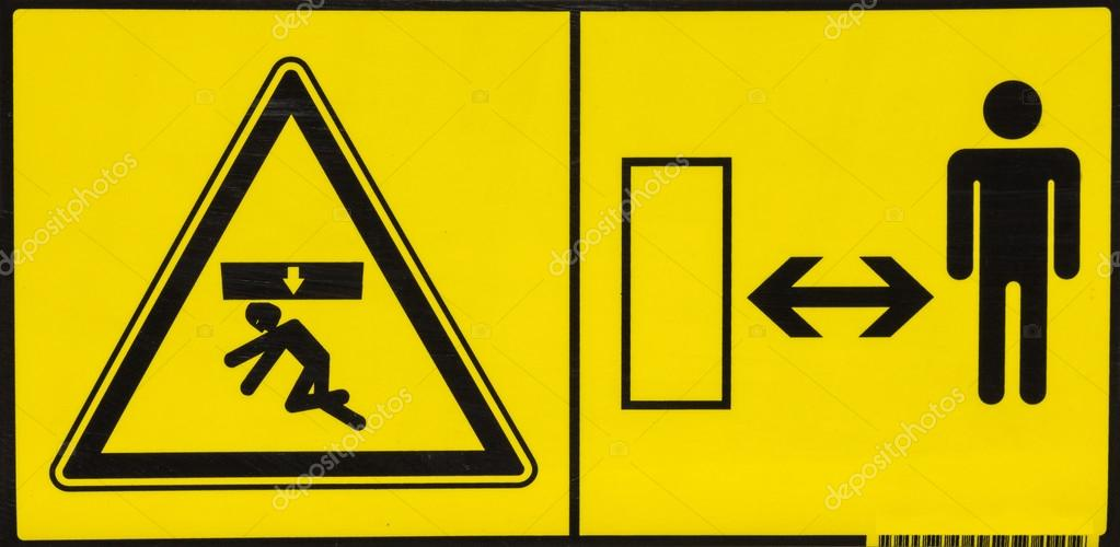 Fahrzeug Gefahr Warnhinweis 4 — Stockfoto © kataklinger #87917778