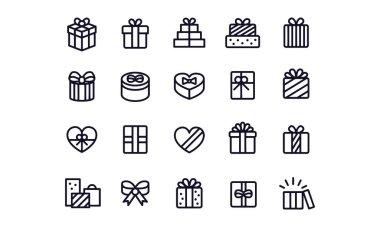 Gift Box Icons vector design icon