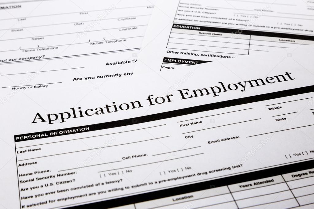 job application form stock photo vinnstock 61023821