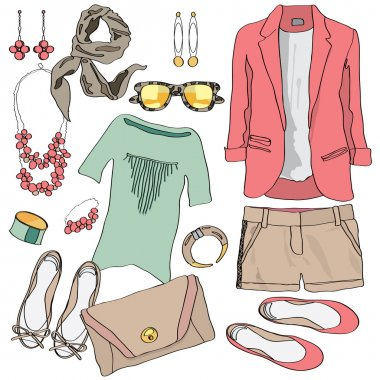 Casual women clothes collection