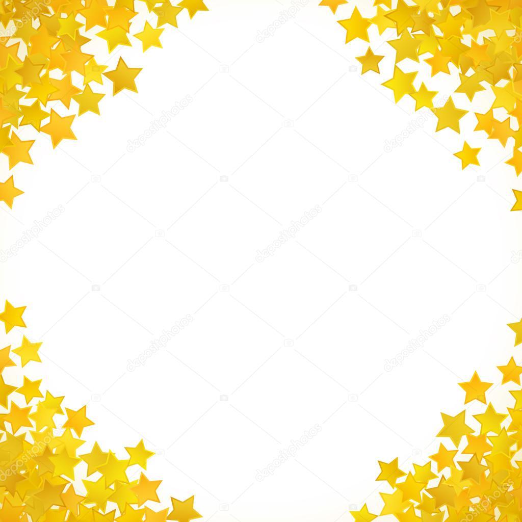 背景黄色星。ベクトル図 — ストックベクター © kannaa #109184716