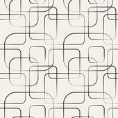 Absztrakt geometriai vonal és a négyzet alakú varrat nélküli mintát. Vektor