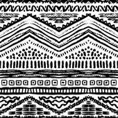 Ručně kreslenou malované bezešvé pattern. vektorové ilustrace