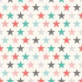 Fényképek Retro színes csillag varrat nélküli mintát. Vektoros illusztráció