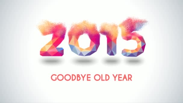 Best happy new year greeting 2015 videos image collection from 2015 to 2016 happy new year 2016 colorful greeting video stock video m4hsunfo