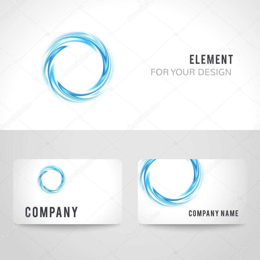 Business card template set abstract blue circle background business card template set abstract blue circle background illustration stock photo 95145432 flashek Images