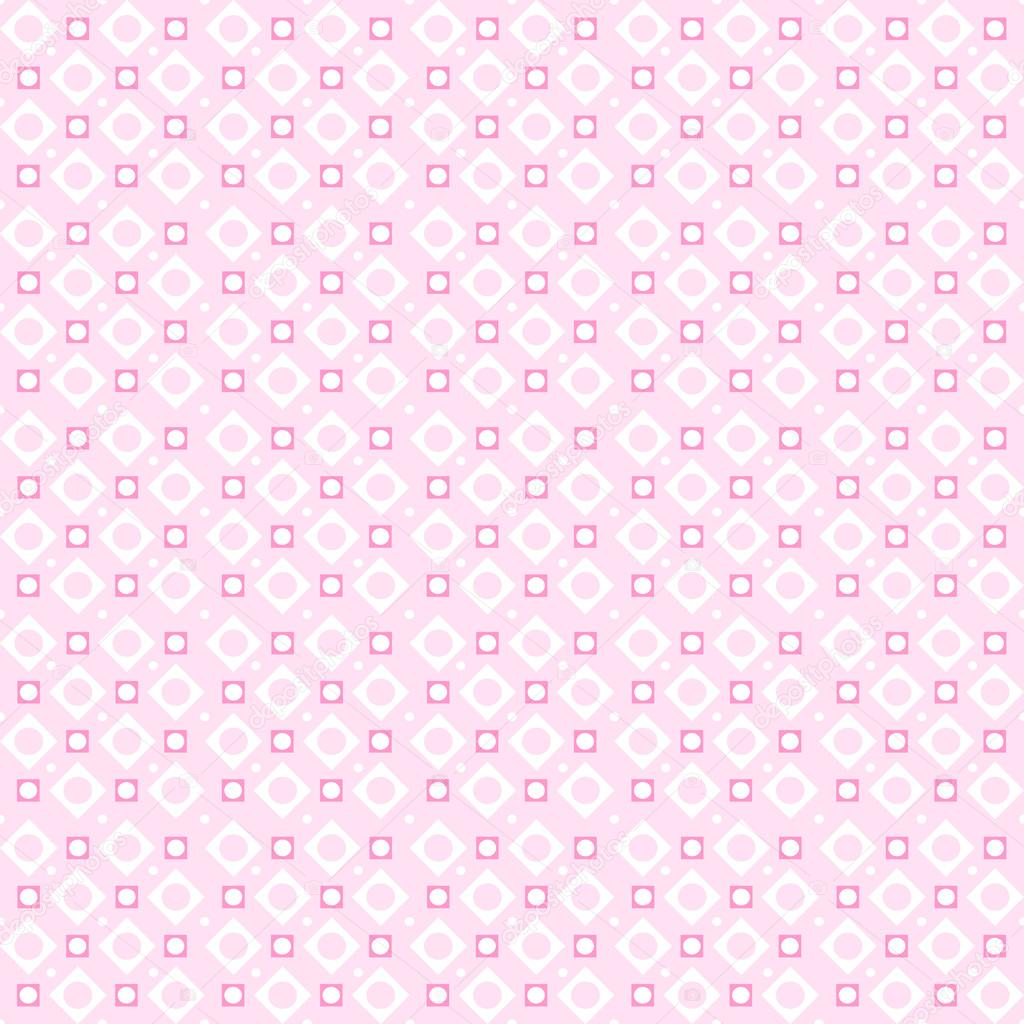 Cute pink vector seamless pattern endless texture cute pink vector seamless pattern endless texture for wallpaper fill web page background surface texture soft circle and dot ornament voltagebd Images