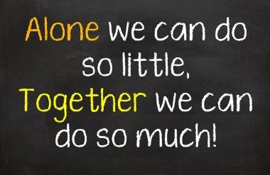 Together we do more
