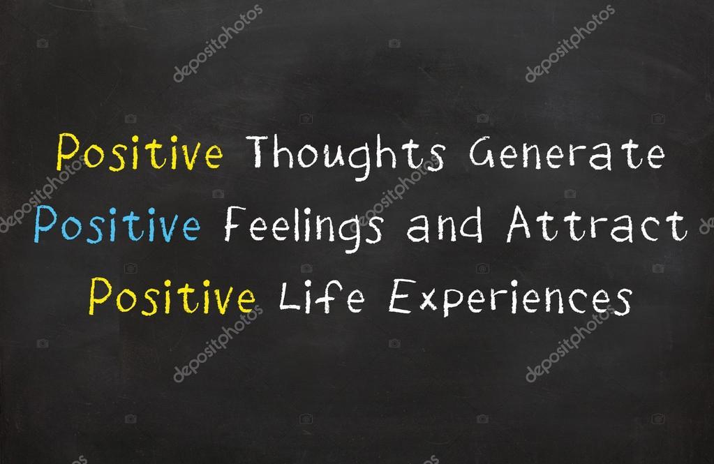 Sentimenti E Pensieri Positivi Foto Stock B11mdana 97971126