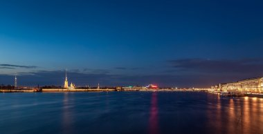 The Neva river in Saint Petersburg
