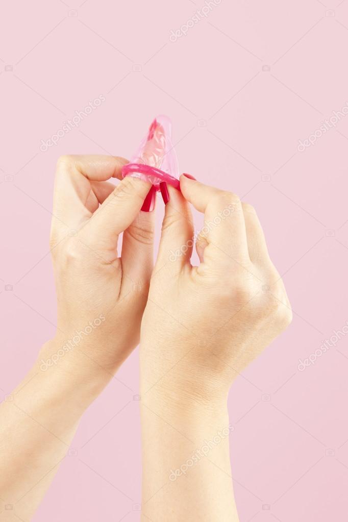 Секс с девочкой в розовом