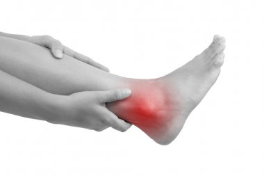 Sprained ankle, muscle injuries and muscle strain