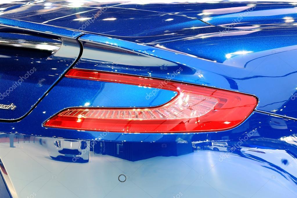Brake Light Of Blue Aston Martin Series Vanquish Stock Editorial Photo C Nanhatai8 74231437