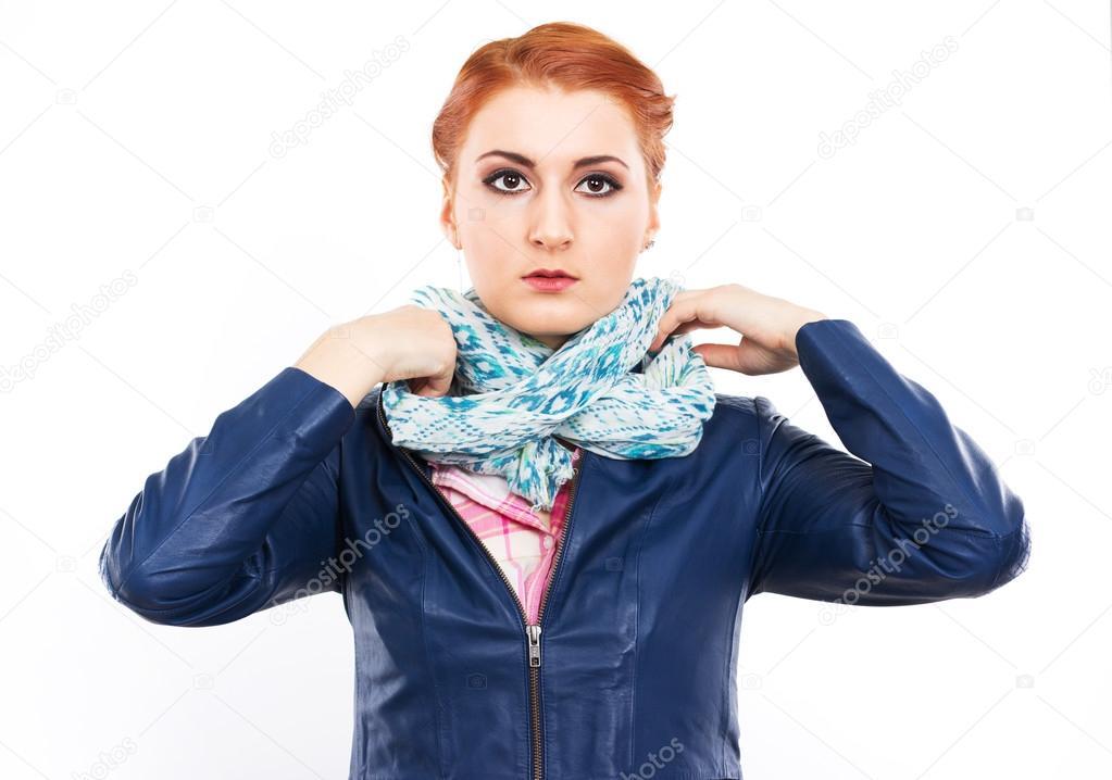 Ung flicka förför kvinna