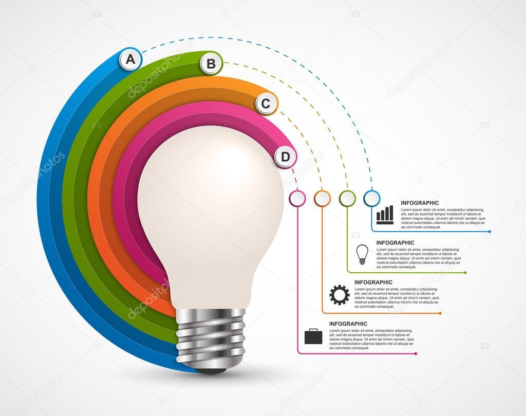 infograf u00eda para presentaciones de negocios o folleto