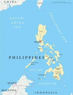 Philippines Political Map