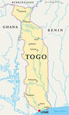 Photo Togo Political Map