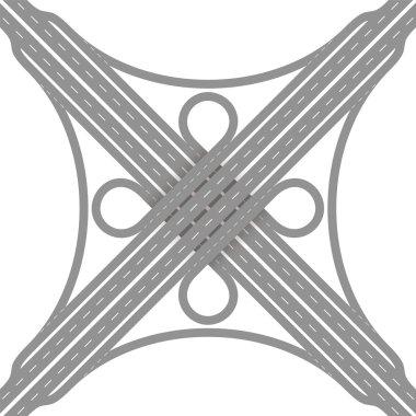 Cloverleaf Interchange Road Junction