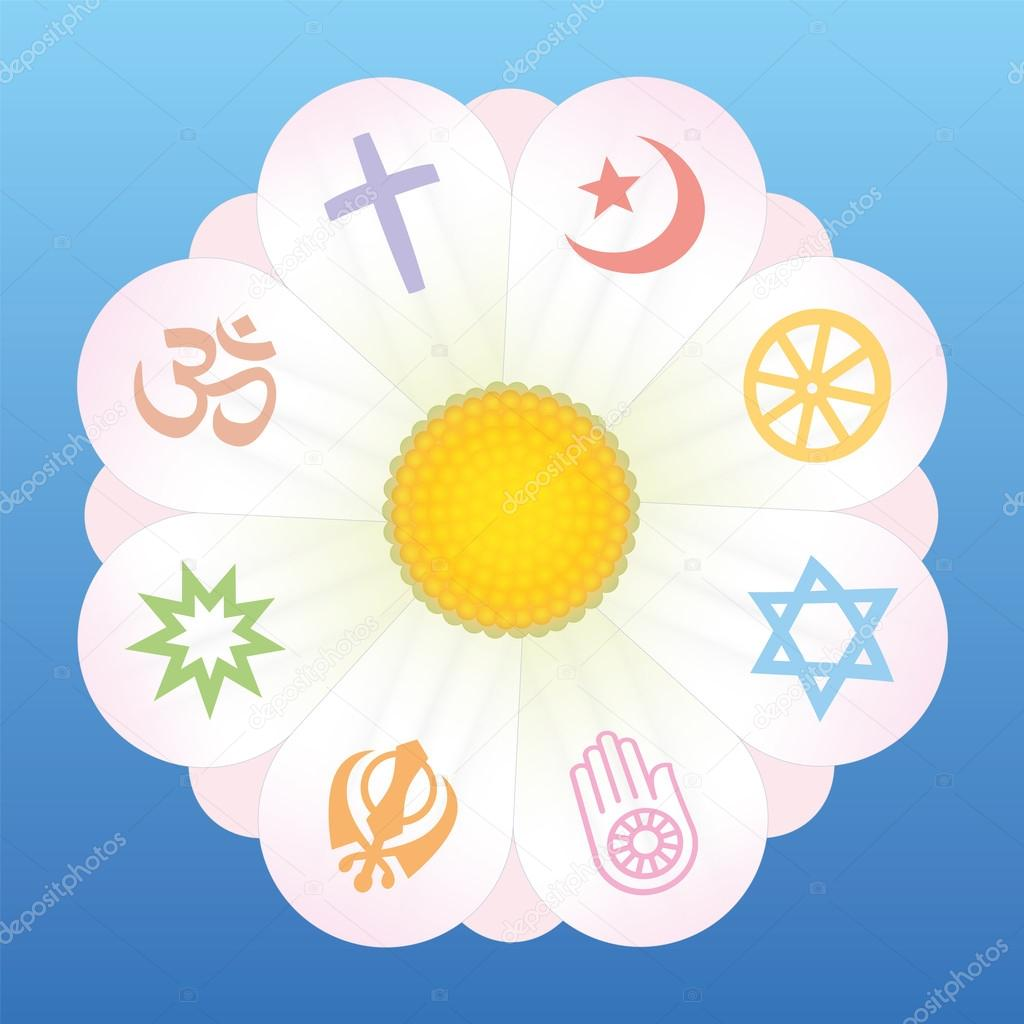 World Religions Flower Symbols